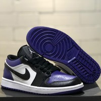 Trendsetter  Air Jordan 1 Women Men Fashion Casual Low-Top Old Skool Shoes