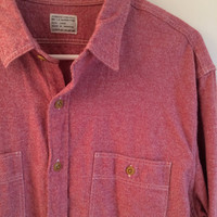 j crew authentic work shirt // chambray button down