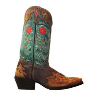 Laredo Western - Blue/Tan Leather Cowboy Boot
