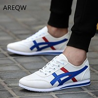 2017 fashion men's casual shoes air network canvas shoes men's outdoor walking breathable shoes male apartments
