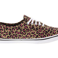 Vans Authentic™ Lo Pro (Neon Leopard) True White - Zappos.com Free Shipping BOTH Ways