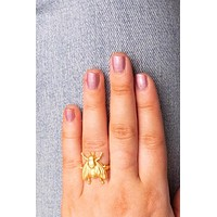 Vintage Fat Fly Ring