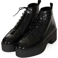 ARES Heavy Lace Up Boots