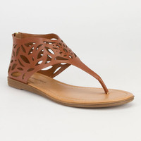 City Classified Salwa Womens Sandals Dark Tan  In Sizes
