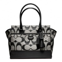 Coach :: New Legacy Signature Medium Candace Carryall