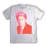 One Direction Niall Horan Flourescent Color Print 016 Tshirt x tee x shirt x top - All Sizes Available