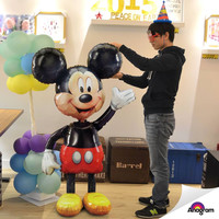 Mickey Mouse Minnie Mouse foil Balloons kids Toys Birthday Party Supplies huge Mickey balloons Wedding decoration Free shipping