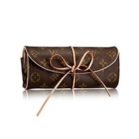 Louis Vuitton Monogram Folding Jewellery Case Pouch M47837 Made in France