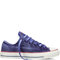 Converse - Chuck Taylor All Star Washed Canvas - Periwinkle - Low Top