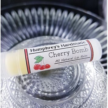 CHERRY BOMB Lip Balm | Maraschino Cherry Flavor