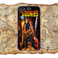 Goonies - Movie Poster - iPhone 4 4s and 5 Samsung Galaxy 3 and 4 Protective Case