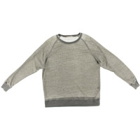 Alternative Apparel Mens Wes Houndstooth Crew Neck Pullover Sweater