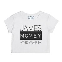 The Vamps James-Female Snow T-Shirt