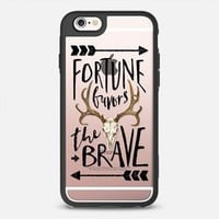 Fortune Favors the Brave iPhone 6s case by Samantha Ranlet | Casetify
