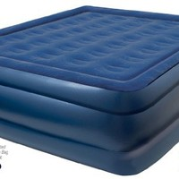 Pure Comfort Raised Profile XL Queen Sized Inflatable Air Mattress