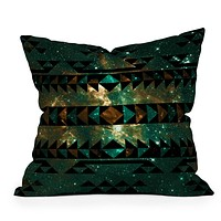 Caleb Troy Gatsby Dust Tribal Throw Pillow