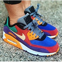 Nike Air Max 90 Classic Retro Women Men Air Cushion Sport Running Sneakers Shoes