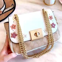 Coach 2019 new women's chain bag shoulder bag