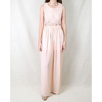 On Vacation Maxi Dress in Peach