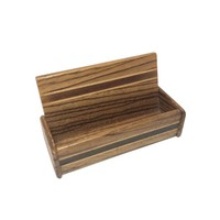 Wooden Business Card Holder, Wood Card Display, Desk Organizer, Office Storage, Office Gift, Coworker Gift, Gift for Boss