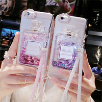 LUXX Perfume Glitter Phone Case for Iphone
