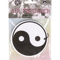 New Look Mobile | Black and White Ying Yang Air Freshener
