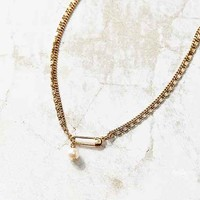 Pin + Pearl Necklace