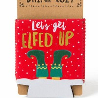 Let's get elfed up coozie