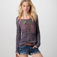 AE Open Stitch Popover | American Eagle Outfitters