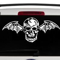 Avenged Sevenfold Deathbat vinyl decal