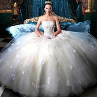 The bride princess wedding dress HS0001