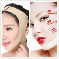 HEXIN Face Shaper Lift Up Belt Sleeping Face-Lift Massage Slimming Face Mask Relaxation Facial Bandage = 1696992836