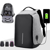 New Brands Fashion Men Laptop Backpacks With USB Charging Mochila Travel Backpack For Teenagers Male Casual Bagpack Anti Thief