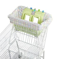 Taggies Tag 'N Go Shopping Cart Cover (Green)