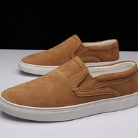 UGG men's sports shoes casual shoes leather men's shoes DHL _1686248855-301