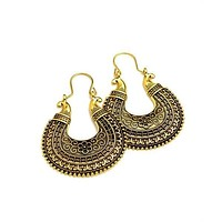 Earrings Hoops  18kts Gold Plated