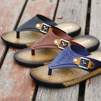 Flat Soft Summer Thick Crust Slippers [10209310412]