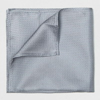 Premium Grey Silk Texture Pocket