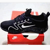 Fashion Nike Running Sport Casual Shoes Sneakers Starry sky Soles black