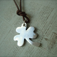 Niall Horan Inspired Shamrock Necklace