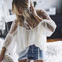 Alex Lace Blouse