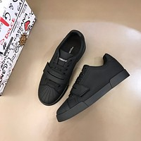 Dolce&Gabbana 2021 Men Fashion Boots fashionable Casual leather Breathable Sneakers Running Shoes0524mp