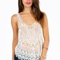 Lace Your Orders Racerback Top $28