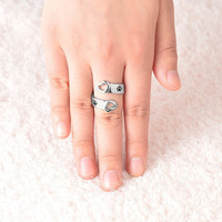 Jewelry Stylish New Arrival Gift Shiny Couple Accessory Ring [11666783247]