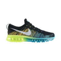 Nike Flyknit Air Max Men's Running Shoes - Black