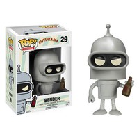 Futurama Bender Pop! Vinyl Figure - Funko - Futurama - Pop! Vinyl Figures at Entertainment Earth