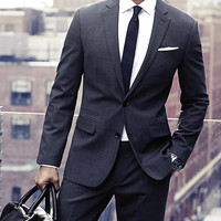 TRAVELER COLLECTION WRINKLE RESISTANT SUIT PANT from EXPRESS