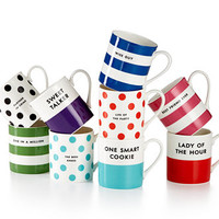 kate spade new york Wit and Wisdom Mug, Only at Macy's