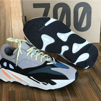 Adidas Yeezy Runner 700 grey blue black  Basketball Shoes 36-46