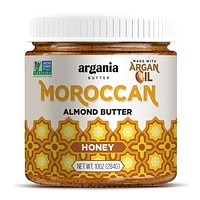 Honey Almond Butter With Superfood Organic Edible Argan Oil